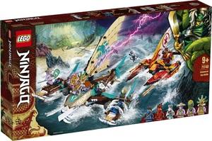 LEGO Ninjago Morska bitka na katamaranima 71748