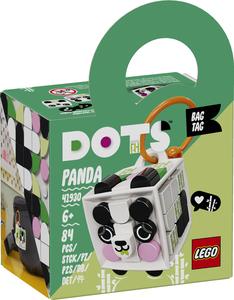 LEGO DOTS Privjesak za torbu panda 41930