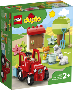 LEGO DUPLO Traktor i briga o životinjama na farmi 10950