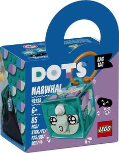 LEGO DOTS Privjesak za torbu narval 41928