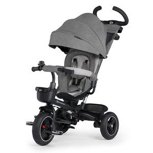 Kinderkraft tricikl 5u1 SPINSTEP Platinum sivi
