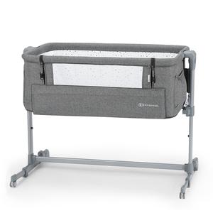 Kinderkraft prijenosni krevetić NESTE UP 2u1 Gray Melange