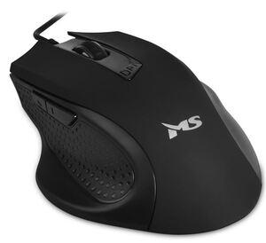 MS FOCUS C115, optički žični miš, crni, 2 000 DPI