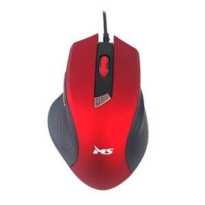MS FOCUS C116, optički žični miš, crveni, 2 000 DPI