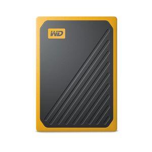 Vanjski prijenosni SSD WD My Passport™ Go Amber 1TB (žuta boja)