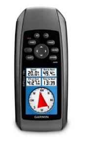 Garmin GPSMAP 78S, GPS ručni uređaj (USB, visinomjer, 3-osni kompas, DEM  karta, HR izbornik,pluta)