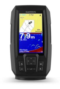 Garmin Striker  Plus 4 (s krmenom sondom CHIRP 77/200kHz, 4-pin),GPS, Fishfinder