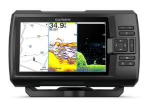 Garmin Striker  Vivid 9sv (s krmenom sondom CHIRP 150-240kHz/ClearVü/SideVü GT52HW-TM, 12-pin),GPS, Fishfinder
