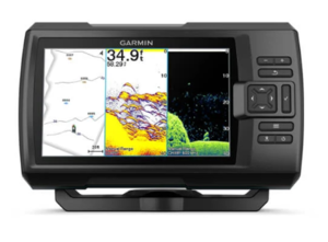 Garmin Striker  Vivid 7sv (s krmenom sondom CHIRP 150-240kHz/ClearVü/SideVü GT52HW-TM, 12-pin),GPS, Fishfinder