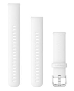 Garmin zamjenski remen 18mm - White (RoseGold kopča) za vivoactive 4S / 4