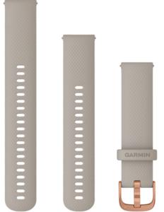 Garmin zamjenski remen za Venu 20mm - Light Sand (RoseGold kopča)