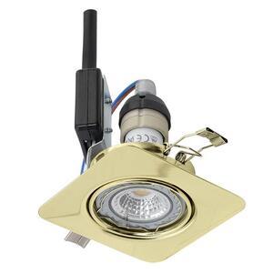 EGLO ugradbena/1, LED, gu10, 5 W, 87x87, 3000K, mesing 'PENETO'