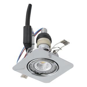 EGLO ugradbena/1, LED, gu10, 5 W, 87x87, 3000K, krom 'PENETO'