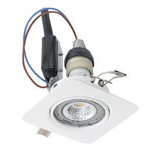EGLO ugradbena/1, LED, gu10, 5 W, 87x87 3000K, bijela 'PENETO'