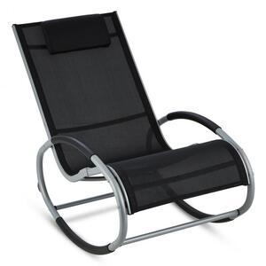 BLUMFELDT Retiro stolica za ljuljanje, Crna