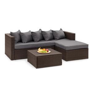 BLUMFELDT Theia Lounge Set vrtni namještaj, Smeđa