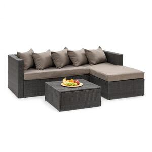 BLUMFELDT Theia Lounge Set vrtni namještaj, Crna