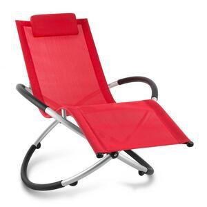 BLUMFELDT Chilly billy vrtna relaksacijska ležaljka, Crvena