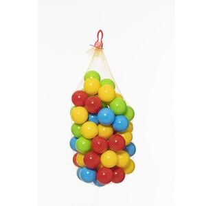 60 plastičnih loptica u vrećici 6.5 cm