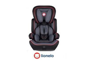Lionelo autosjedalica Levi PLUS crna/crvena*Rasprodaja_ambalaža_TPNJ