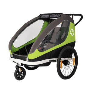 HAMAX prikolica za bicikl Hamax Traveller zelena/siva