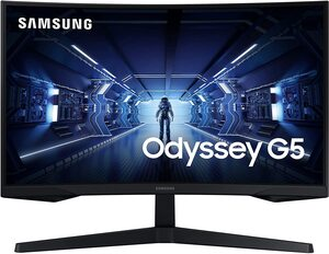 Samsung monitor LC27G55TQWRXEN, WQHD VA, zakrivljeni, 144Hz, 1ms, DisplayPort, HDMI