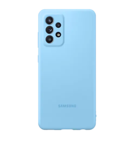 Silikonska maska za Samsung Galaxy A72 plava EF-PA725TLEGWW