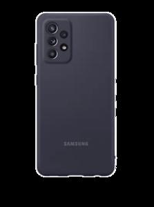 Silikonska maska za Samsung Galaxy A72 crna EF-PA725TBEGWW