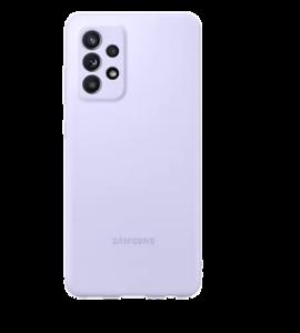 Silikonska maska za Samsung Galaxy A52 ljubičasta EF-PA525TVEGWW