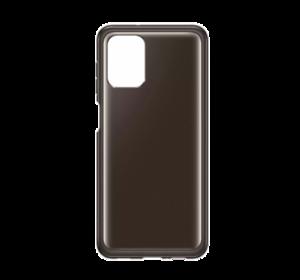 Prozirna maska za Samsung Galaxy A12 crna EF-QA125TBEGEU