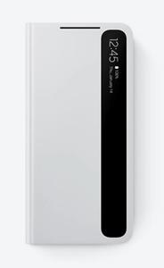 Clear View maska za Samsung Galaxy S21+ svijetlo siva EF-ZG996CJEGEE