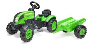 Falk traktor na pedale i prikolica Countrey farmer green