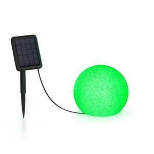 BLUMFELDT Shinestone Solar 20 kuglasta svjetiljka, Zelena