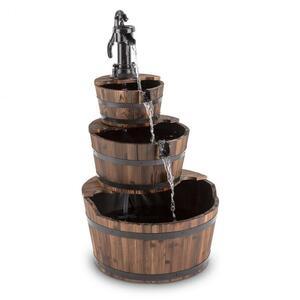 BLUMFELDT Cascada 2G, drvo, kaskadna fontana, vrtna fontana, 12 W, 800 l/h