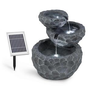 BLUMFELDT Murach, kaskadna fontana, rad na akumulator, 2 W, solarna ploča, 3 LED diode