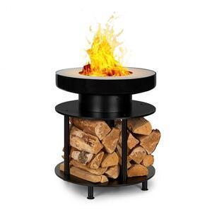 BLUMFELDT Wood Stock ognjište 2-u-1