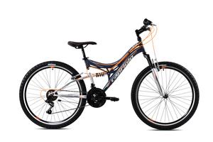 "CAPRIOLO dječji bicikl CTX260 26""/18HT sivo/narančasta"