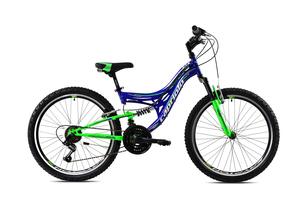 CAPRIOLO dječji bicikl CTX240 24'/18HT plavo/zelena