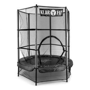 KLARFIT trampolin Rocketkid 140 cm crni