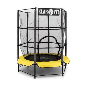 KLARFIT trampolin Rocketkid 3, 140 cm žuti