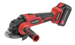 Praktik Tools Q LINE set aku kutna brusilica + baterija 3,0ah + punjač - PTQ104