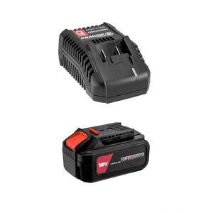 Praktik Tools Q LINE set baterija 3,0ah + punjač PTQ100
