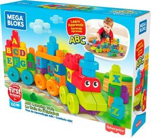 Megablocks ABC vlak za učenje