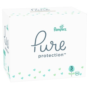 Pampers Pure Protection MBS pelene S3 180 kom