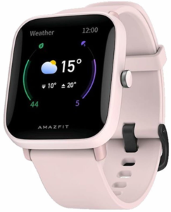 Amazfit Bip U Pro Pink, pametni sat