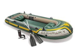 INTEX čamac s veslima Seahawk 4 (351 x 145 x 48 cm)