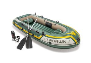 INTEX čamac s veslima Seahawk 3 (295 x 137 x 43 cm)