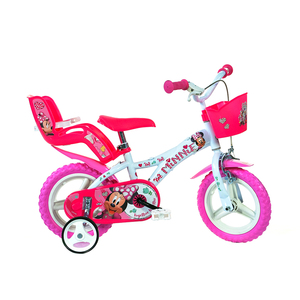 DINO dječji bicikl Dino Minnie 16'' rozo/bijeli