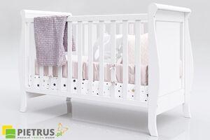 Pietrus dječji krevetić Misza White 120 x 60 cm