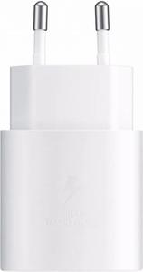 Punjač Samsung TA800 25W Fast Charge USB-C bijeli bez kabela EP-TA800NBEGEU